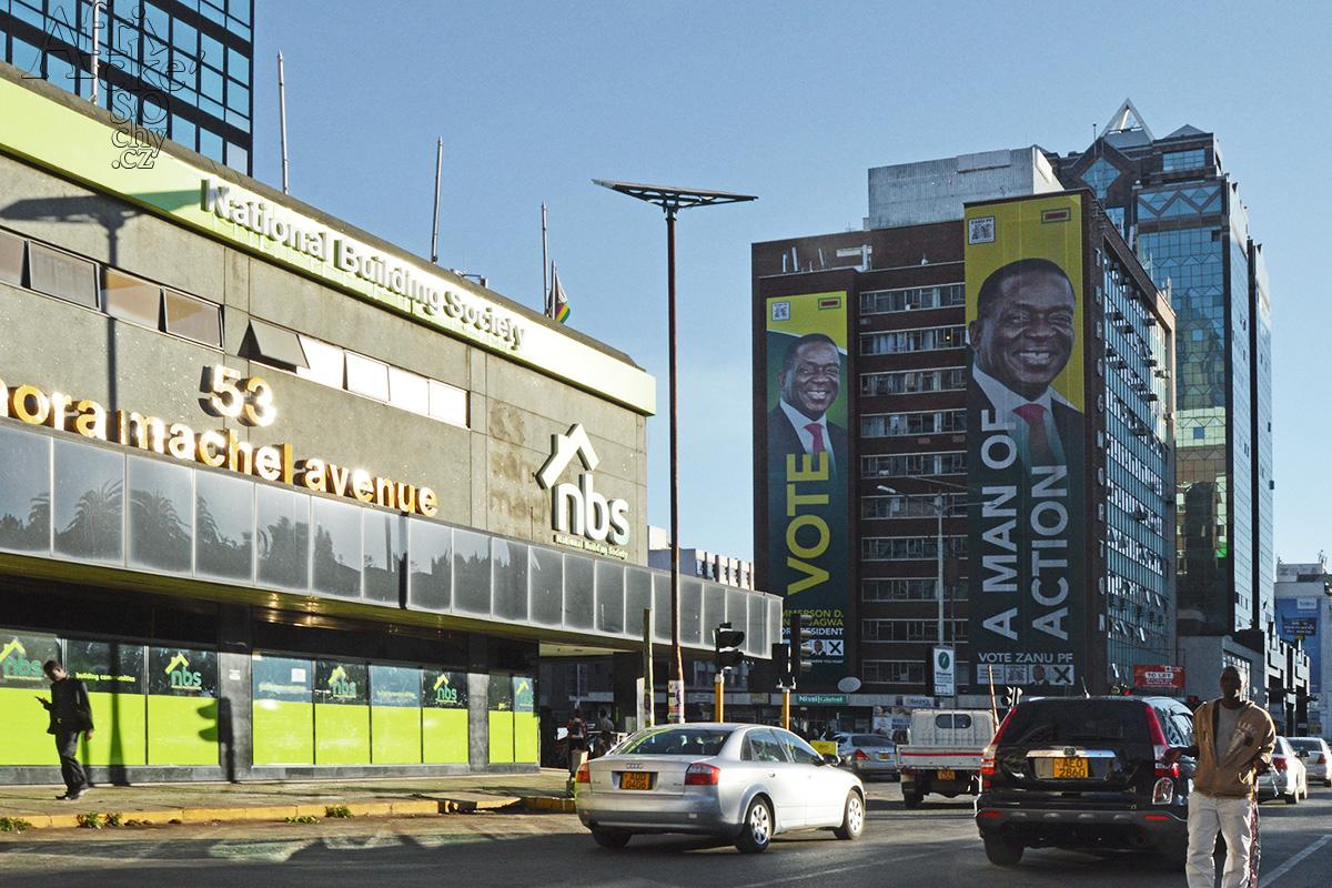 Zimbabwe - hlavní město Harare