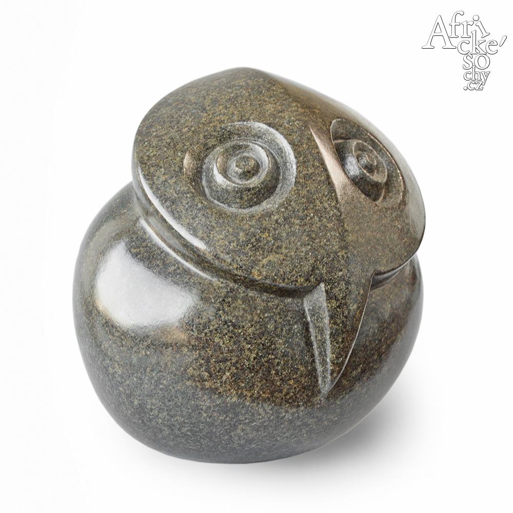 Juja Tembo: socha Načepýřená sova
