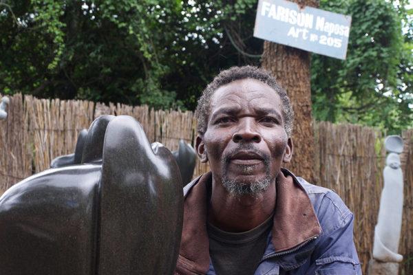 Sochař Farison Maposa Tengenenge