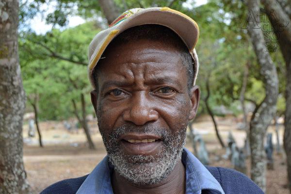 Sochař Enock Tembo Tengenenge