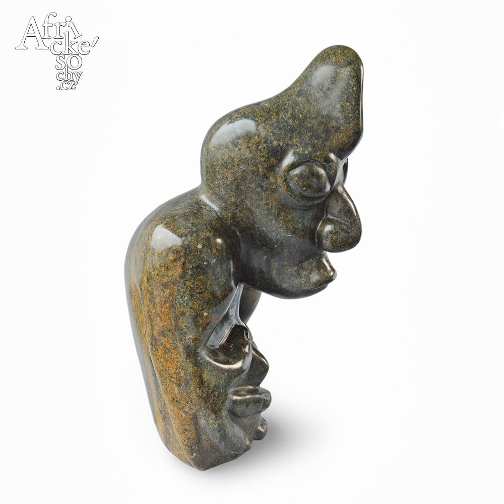 Neznámý autor: socha Šaman