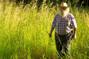 Tom Blomefield v Tengenenge na jaře 2007
