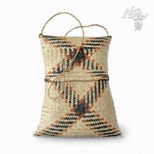 Kabelka ručně pletená z trávy | africké dekorace a předměty