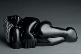 Lazarus Takawira: socha Relaxing girl | Foto: Eric Gauss