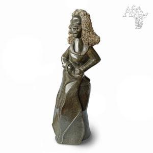 Chipo Girafa: socha Dáma | Kamenné sochy na prodej