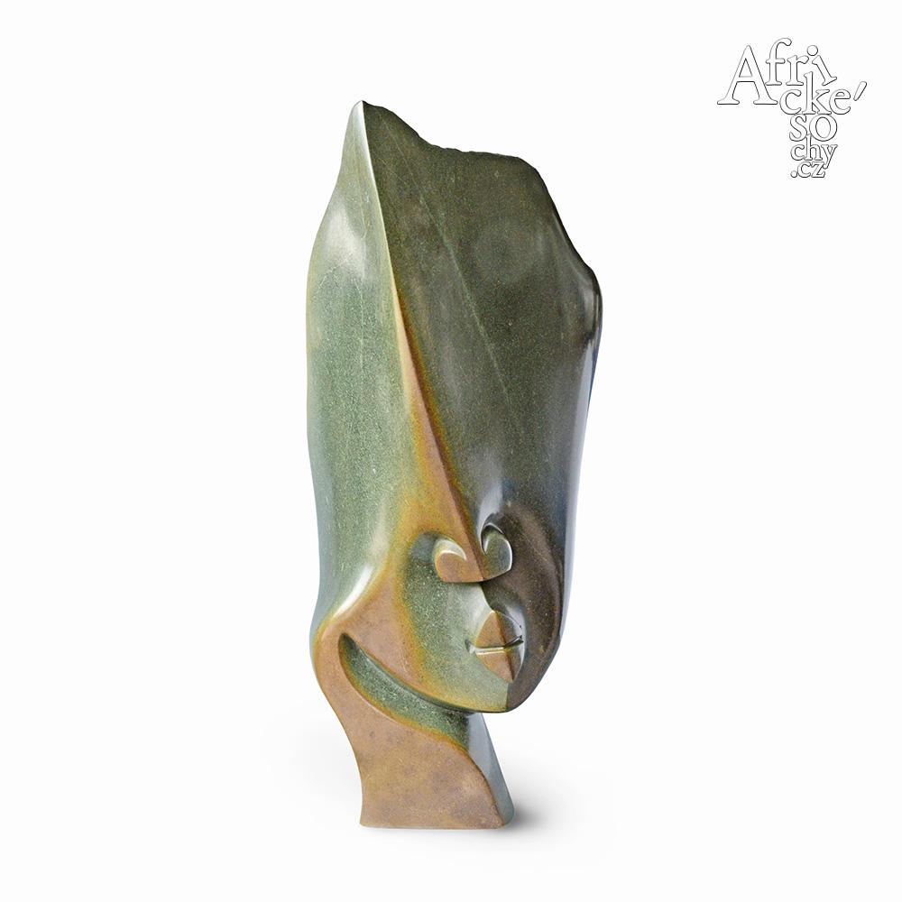 Issa Simms: socha Hlava | Kamenné sochy na prodej