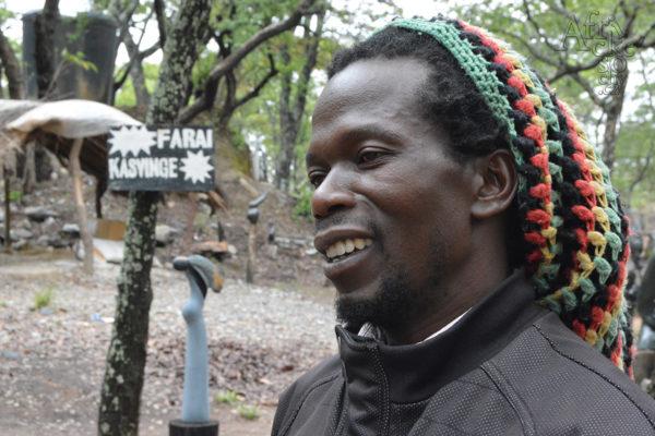 Sochař Farai Kasvinge